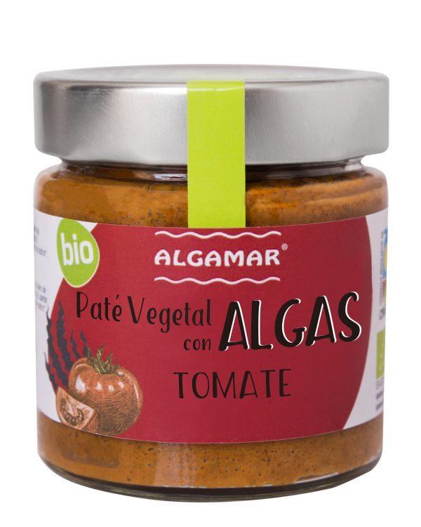 paté vegetal algas tomate
