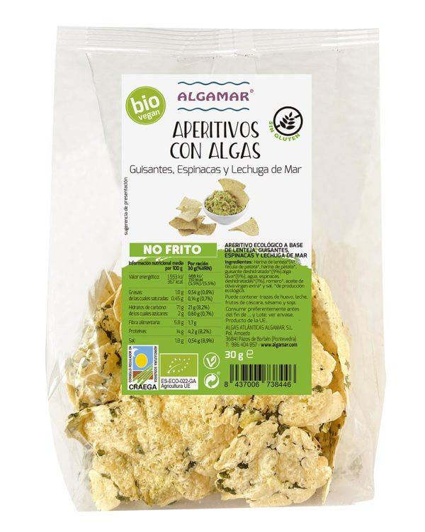 Snacks de Legumbres algas