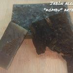 jabón de alga kombu