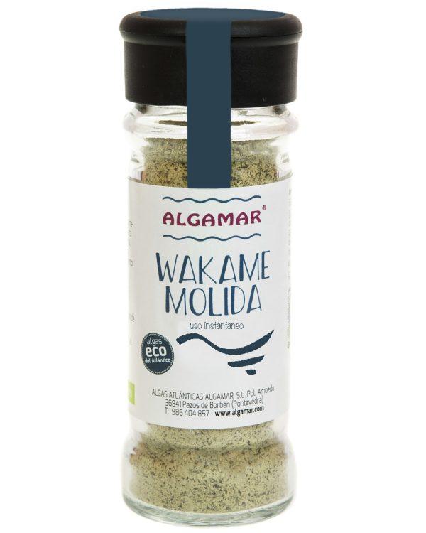 alga wakame molida
